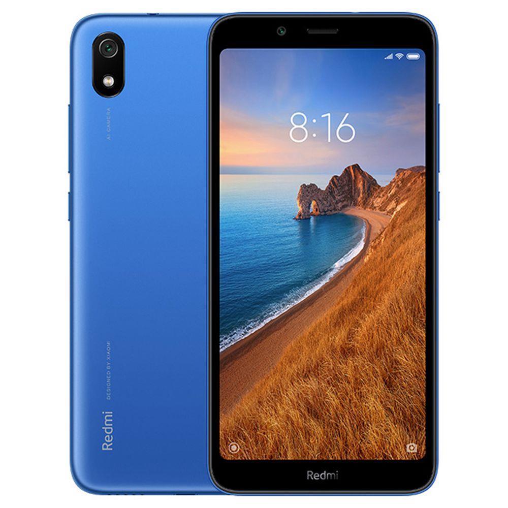 Xiaomi Redmi 7A 5.45 Inch 4G LTE Smartphone Snapdragon SDM439 2GB 32GB 13.0MP Rear Camera MIUI 10 Face ID Global Version - Blue