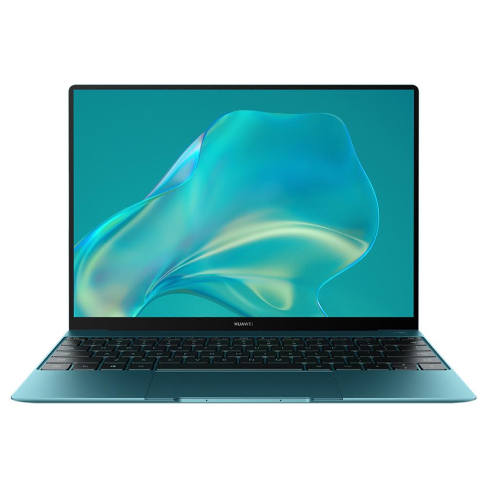 Huawei MateBook X 2020 Laptop Intel Core i5-10210U 13 Inch Touch Screen 3K High Resolution 100% sRGB 16GB 512GB 42Wh Battery Type-C Fast Charging Fingerprint Windows 10 Notebook - Green