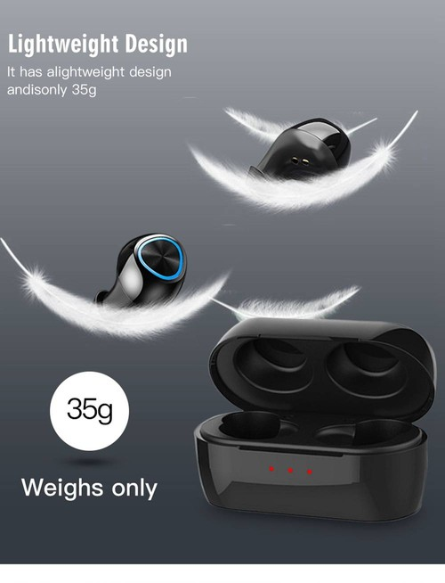Remax TWS-16 Bluetooth 5.0 True Wireless Earphones Siri Binaural Call 4 Hours Playtime - Black