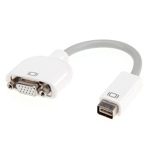 New Mini DVI to VGA Monitor Video Adapter Cable for Apple MacBook Fast Shipping