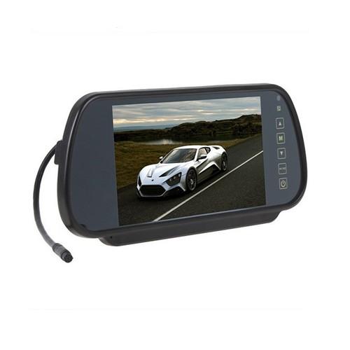 "Wireless 7/"" Car LCD Rear View Mirror Monitor HD Backup Parking Reverse Camera"