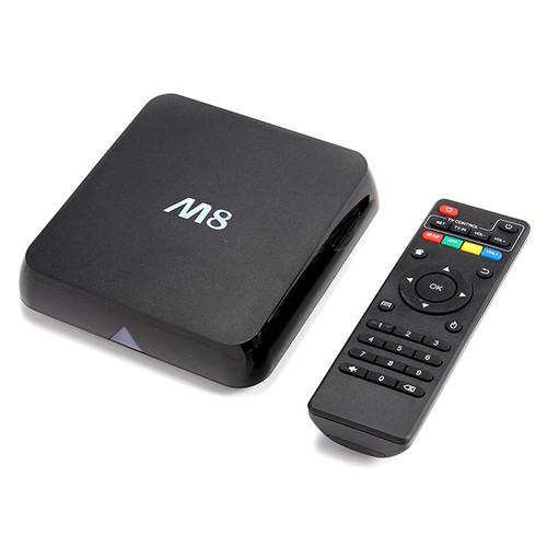 M8 Amlogic S802 Quad Core Cortex-A9 2.0Ghz Android 4.4 TV BOX 4K HDMI HDD Player Octa Core GPU 2.4G / 5G WIFI XBMC Bluetooth - черный