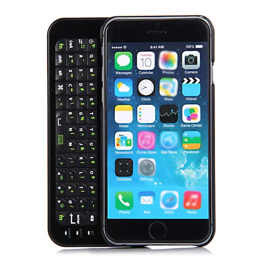 Wireless Bluetooth Keyboard Sliding Slide Out Keyboard Case Cover
