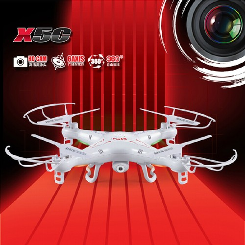 SYMA X5C-1 New Version Explorers 2.4GHz 4CH 6Axis RC Quadcopter with 2MP HD Carmera-Mode 2