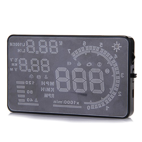 "5.5 ""Pantalla grande para coche HUD Head Up Display Con display OBD2 HUD"