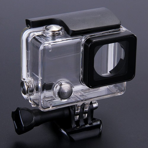Protective Case Replacement Waterproof Housing Case for GoPro Hero 4 - Transparent