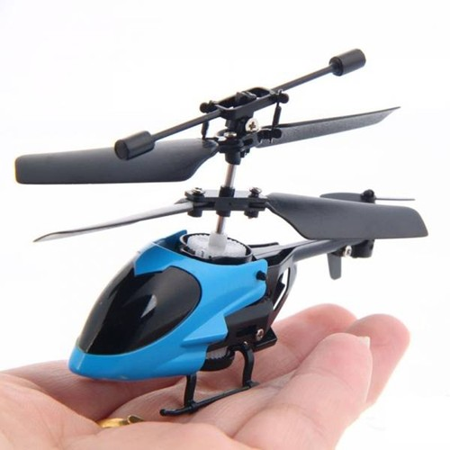 QS QS5013 2.5CH Mini Micro Remote Control RC Helicopter - Blue