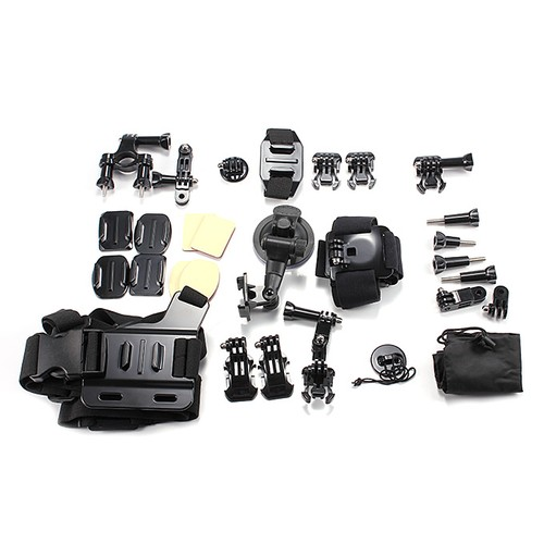 33 in 1 Accessories Kit for Action Cameras Xiaoyi MGCOOL SJCAM GoPro Cameras