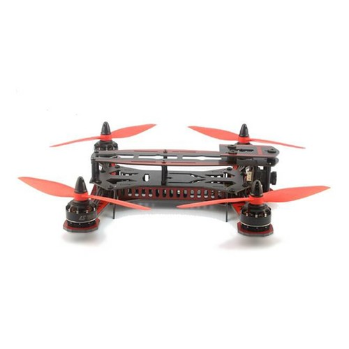 GT-250 250mm Fiberglass Quadcopter Multicopter Frame Kit - Red