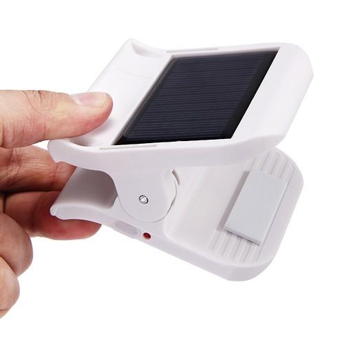 Solar Light Clip Sensor Lamp