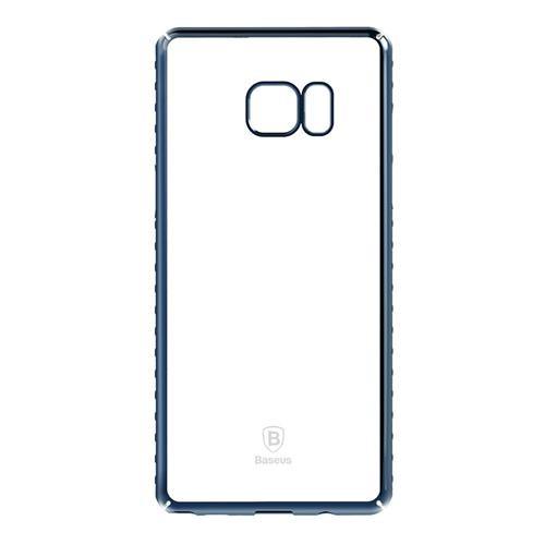 Coque de protection pour téléphone avec coque ultra-mince et coque anti-rayures pour Samsung Galaxy Note 7 - Bleu