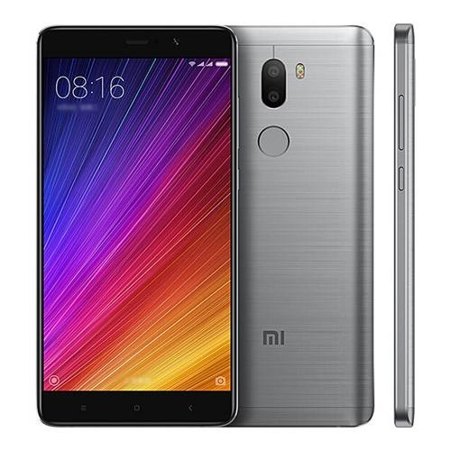 Xiaomi Mi 5S Plus 5.7inch FHD MIUI 8 Android 6.0 4G LTE Smartphone Qualcomm Snapdragon 821 Quad Core 4GB 64GB Dual Rear 13.0MP Touch-ID NFC Type-C - Dark Gray
