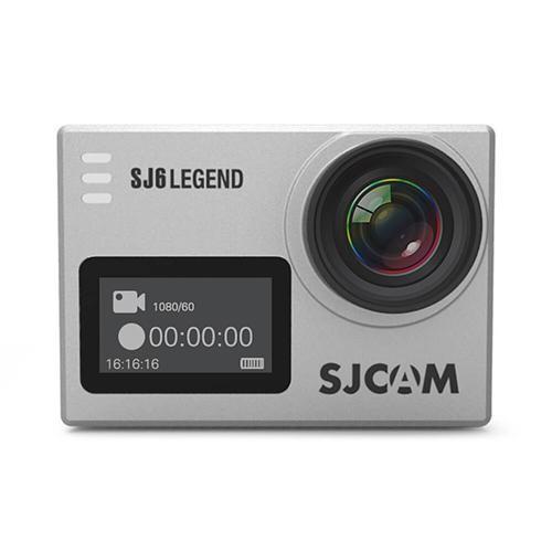 オリジナルSJCAM SJ6 LEGEND 4K WiFiアクションカメラ - シルバー