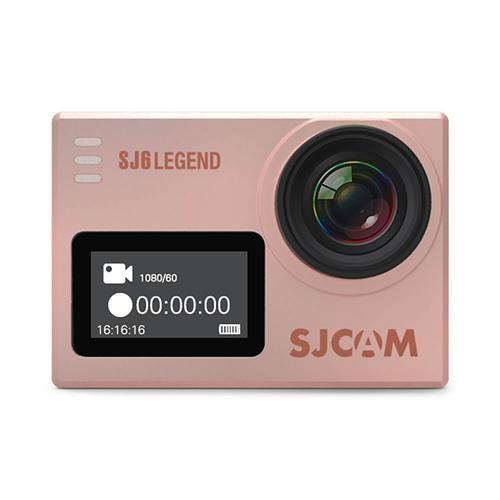 オリジナルSJCAM SJ6 LEGEND 4K WiFiアクションカメラ - ローズゴールド