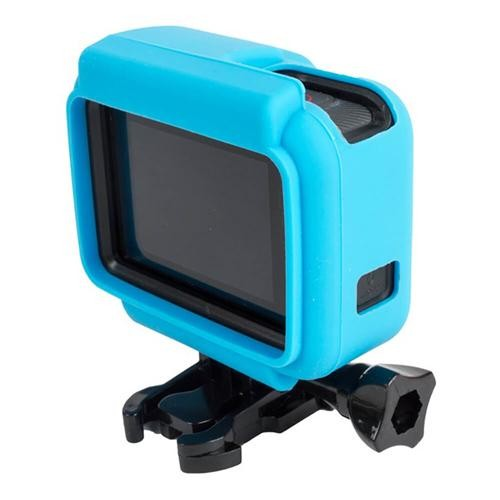 Camera Frame Soft Silicone Case for Gopro Hero5 Action Camera - Blue