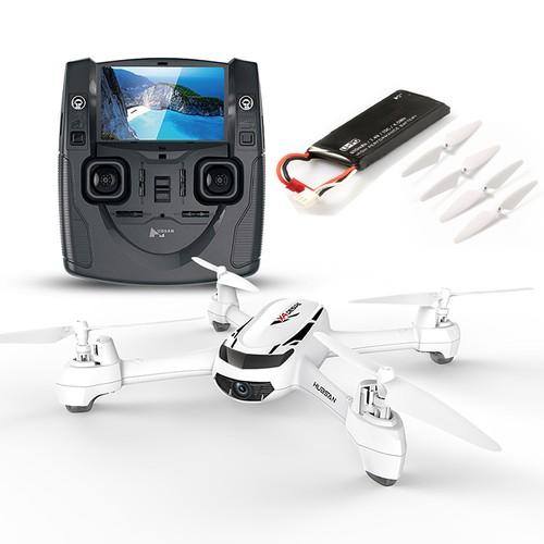 Bundle Hubsan X4 H502S 5.8G FPV GPS RC Quadcopter RTF + Extra 7.4V 610mAh battery + Extra Propeller Set