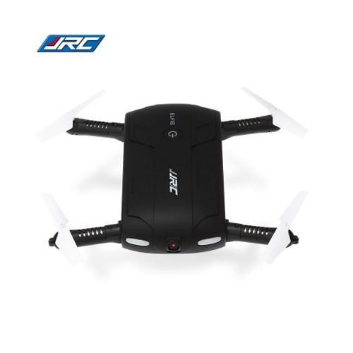 JJRC H37 Elfie Foldable Pocket Selfie Drone WIFI FPV Altitude Hold Mode RC Quadcopter - Black