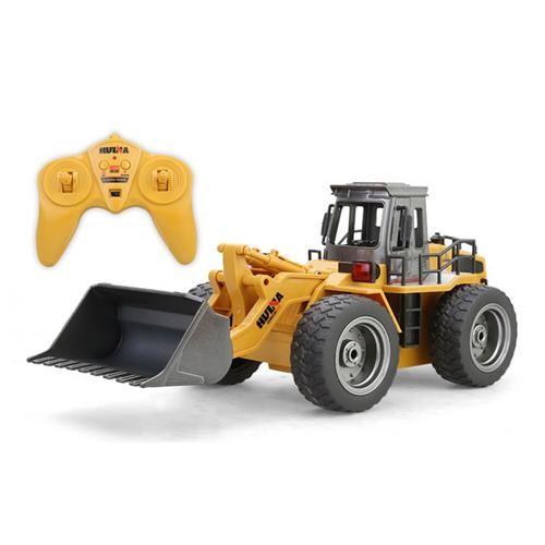 HuiNa Toys 1520 2.4G 6CH 1 / 18 RCメタルブルドーザー
