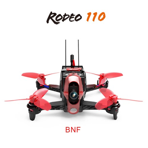 Walkera Rodeo 110 110mm 5.8G 40CH Transmission FPV Racing Drone With 600TVL HD Camera - BNF