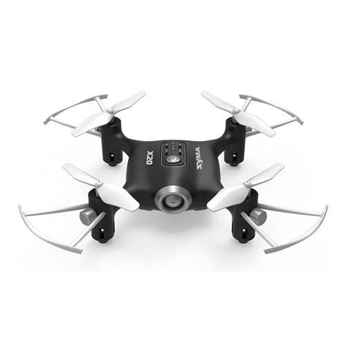 SYMA X20 Pocket 2.4G 4CH 6Aixs Altitude Hold Mode RC Quadcopter RTF - Black