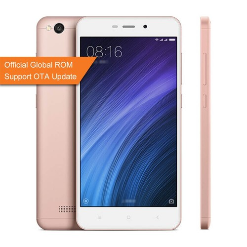 Official Global Rom XIAOMI Redmi 4A 2GB 16GB Smartphone - Rose Gold