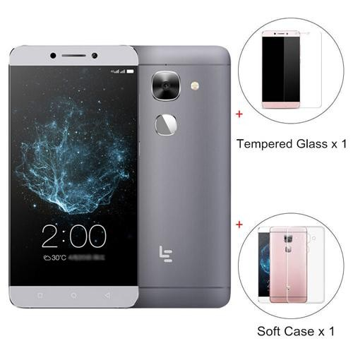 [Paquete B] LeTV LeEco Le Max 2 Pro X820 5.7inch 4G LTE Smartphone 2K Pantalla 6GB 64GB Qualcomm Snapdragon 820 21MP Versión de la UE Gris +