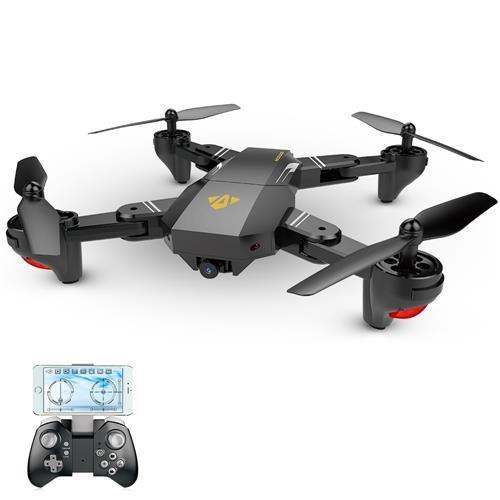 အားလုံး XS809HW 720P WIFI FPV RC Quadcopter RTF က Black