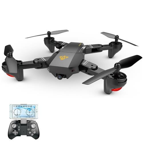 VISUO XS809HW 720P WIFI FPV RC Quadcopter RTF Black