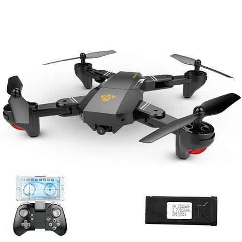 VISUO XS809HW RC Quadcopter RTF with Extra 900mAh Battery Black