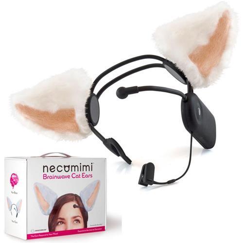 Necomimi Mood Cat Ears Mind Cat Ears Мозговые волны Интеллектуальный контроль