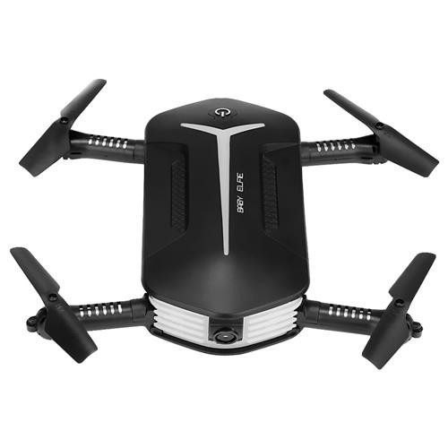 JJRC H37 Mini Baby Elfie WIFI FPV Foldable Drone with HD 720P Camera Beauty Mode Altitude Hold RC Quadcopter RTF - Black