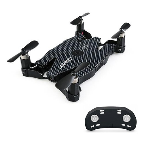 JJRC H49 SOL WIFI FPV Ultrathin Foldable Selfie Drone with 720P Camera Altitude Hold Mode RC Quadcopter RTF - Black