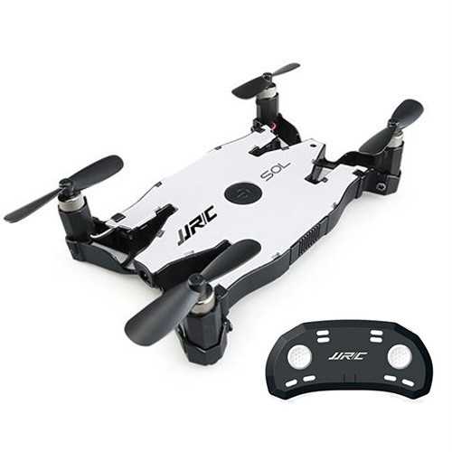 JJRC H49 SOL WIFI FPV Ultrathin Foldable Selfie Drone with 720P Camera Altitude Hold Mode RC Quadcopter RTF - White