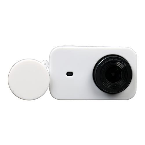 Color : Black Black for Xiaomi Mijia Small Camera Silicone Protective Case with Lens Cover Protective Case