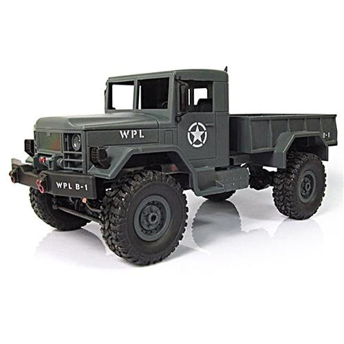 WPL WPLB-1 4WD RC Crawler RTR Army Green