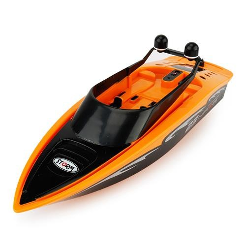 CREATE TOYS 3323 Brushed RC Boat RTR Orange