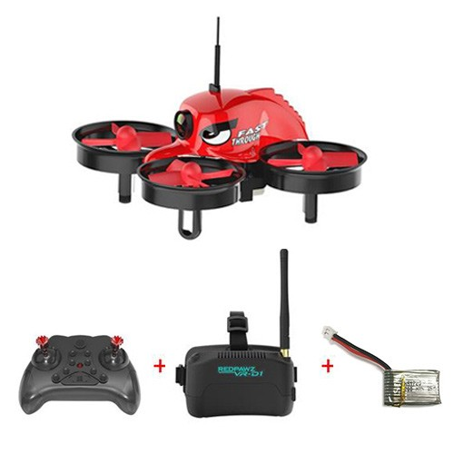 REDPAWZ R011 FPV Racing Drone com VR-D1 Goggles Extra Battery RTF