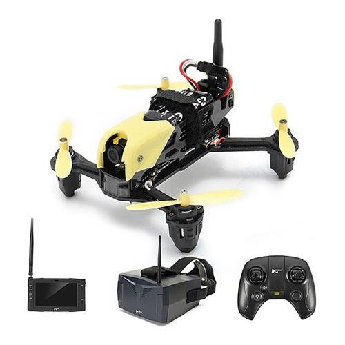 Hubsan H122D X4 Storm 5.8G FPV Micro Racing Drone with 720P Camera HV002 Goggles RTF - Goggles Edition