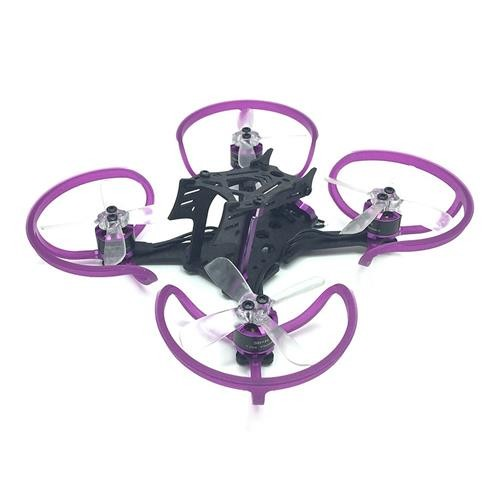 3BHOBBY 100 100mm Wheelbase FPV Frame Kit with 1105 KV6000 Brushless Motor Gemfan 2035 3P Propeller