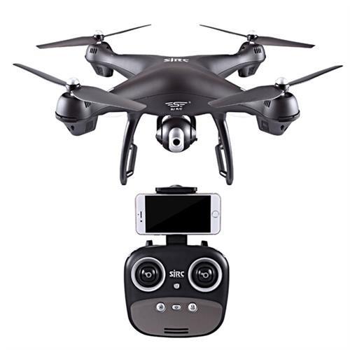 SJRC S70W Dual GPS 2.4G WIFI FPV Drone RTF Negre