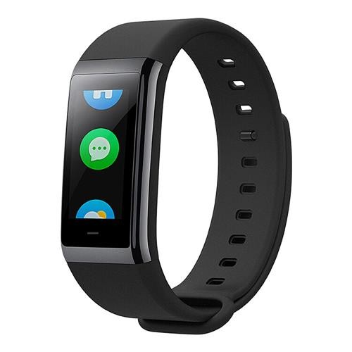 [HK Stock][English Version]Original Xiaomi Huami Amazfit Cor MiDong Smart Bracelet 5ATM Waterproof 2.5D Color IPS Touch Screen 316L Stainless Steel...
