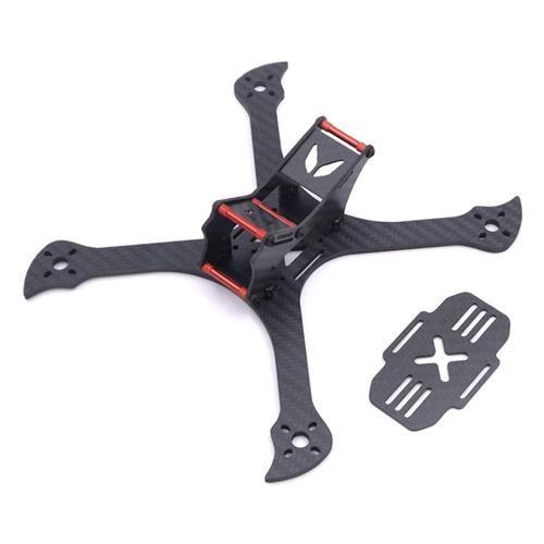 Kamaitachi 220mm Carbon Fiber 4mm Bottom Thickness X Frame Kit for FPV Racing Drone