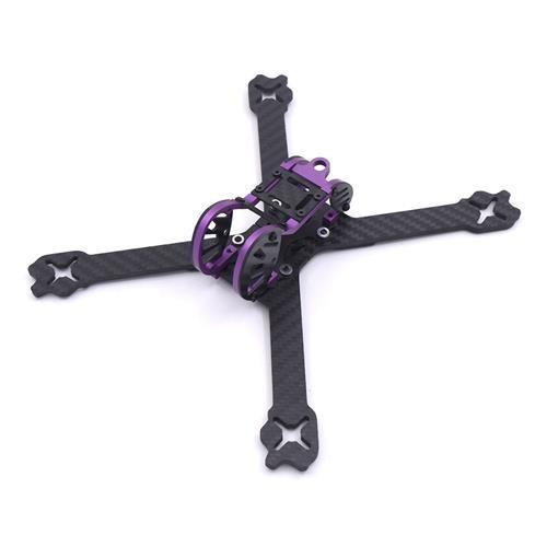 Pelusa 220mm Carbon Fiber 4mm Arm Thickness XS Frame Kit for FPV Racing Drone