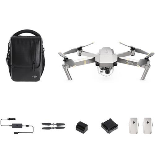 DJI Mavic Pro Platinum WIFI FPV Foldable Drone With 4K Camera 3-Axis Gimbal 30mins Max Flight Time RTF Fly More Combo - US Plug