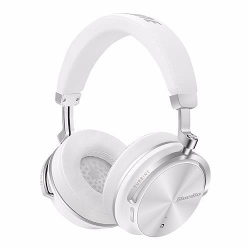 Bluedio T4s Wireless Bluetooth Headphones With Mic White