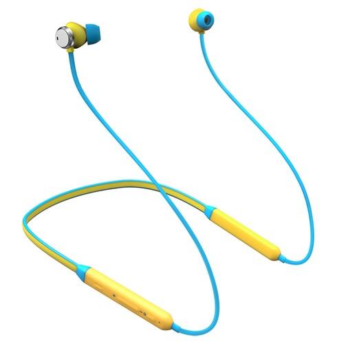 Bluedio TN Bluetooth Kummvetsera ndi Dual Mic Yellow