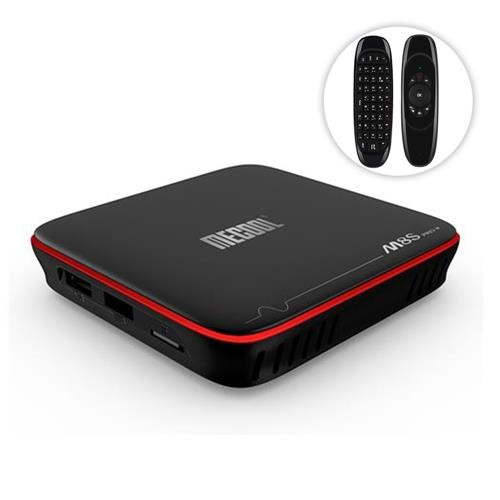 MECOOL M8S PRO W A S905W 2GB/16GB TV Box+ Air Mouse + Keyboard
