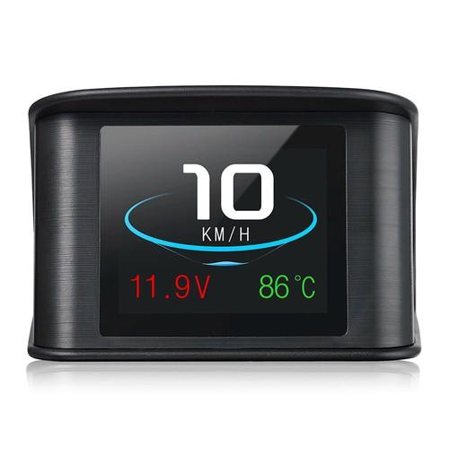 Universal HUD Head-up Display Car OBD2 Smart Digital Speedometer Speed Alarm