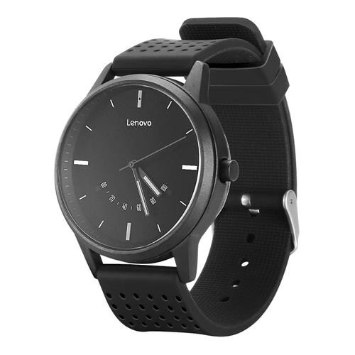 Lenovo Watch 9 Quartz Smartwatch 5ATM Heart Rate Monitor Black