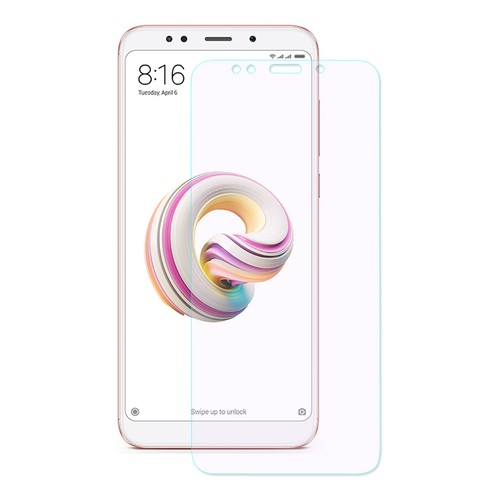 Xiaomi Redmi 5 Plus/Note 5 Tempered Glass Screen Protector ENKAY Hat-Prince 0.26mm 2.5D Explosion-proof Membrane - Transparent